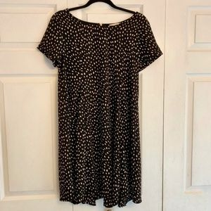 ALTAR'D STATE Black short sleeve swing dress L